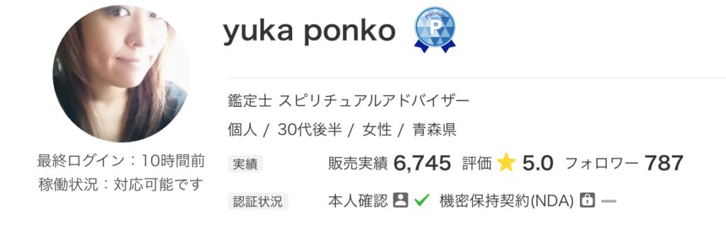 yukaponkoさんのプロフィール